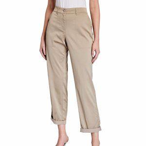 Lafayette 148 New York Fulton pants in satin cloth